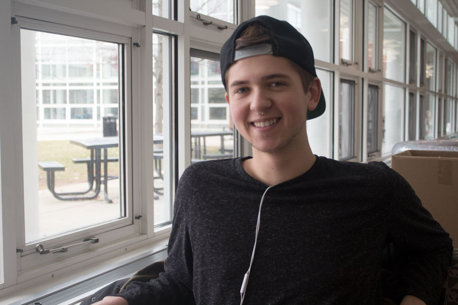 """""""I'll be honest, I haven't actually looked at my classes or looked to schedule it at all. I usually do it on the day I am supposed to do it because I've gotten pretty good at figuring out what I need to take and what I need to take for next semester because a lot of classes I wanted to take this semester I couldn't because they weren't offered."""" -Dylan"""